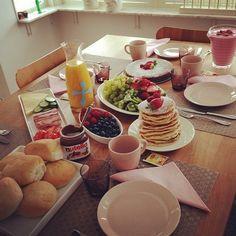 70 Trendy Ideas For Breakfast Bread Buffet Breakfast Buffet, Breakfast Time, Breakfast Recipes, Nutella Breakfast, Brunch Buffet, Homemade Breakfast, Breakfast Ideas, Food Buffet, Buffet Ideas