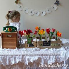 create a play flower shop!