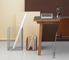 Track Basket: Storage Inspired by Shopping Carts - Design Milk