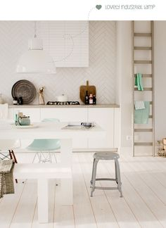 scandi style kitchen