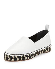 Espadrilles are having a moment right now with Proenza.