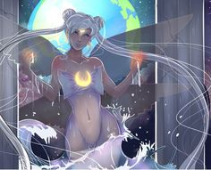 Queen Serenity by Invader-celes on DeviantArt