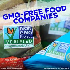 GMO-Free Food Companies! Get the list here: http://www.stepintomygreenworld.com/healthyliving/greenfoods/non-gmo-company-list