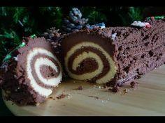 κορμός σοκολατένιος χριστουγεννιάτικος CuzinaGias - YouTube Christmas Time, Muffin, Breakfast, Cake, Desserts, Recipes, Crochet Stitches, Food, Youtube