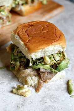 Looking for Fast & Easy Appetizer Recipes, Burger Recipes, Lunch Recipes, Pork Recipes, Tailgating Recipes! Recipechart has over free recipes for you to browse. Find more recipes like Maple Dijon Pulled Pork Sliders. Pork Recipes, Lunch Recipes, Appetizer Recipes, Appetizers, Cooking Recipes, Slider Recipes, Tailgating Recipes, Pulled Pork Sliders, Wrap Sandwiches