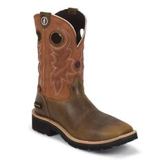 Tony Lama Men's 3R Composition Toe Western Work Boots