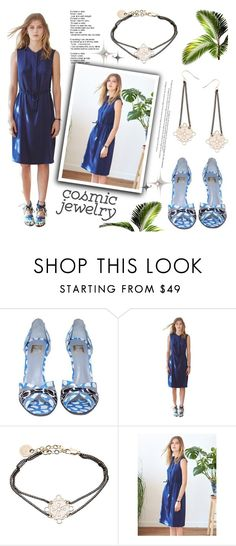 """""""Cosmic Jewelry"""" by kreateurs ❤ liked on Polyvore featuring contestentry, kreateurs and cosmicjewelry"""