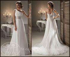 My Wedding Chat » Blog Archive Grecian Wedding Gowns: Shop Grecian wedding dresses today, at Wedding Shoppe!