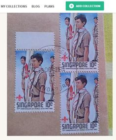 Scouts & Guides on Stamps at kollectbox.com Join kollectbox.com - The…