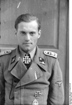 ✠ Alfred Günther (25 April 1917 – 15 June 1944) killed when his Tiger tank was…