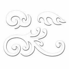 Stencils, Leaf Stencil, Stencil Templates, Stencil Patterns, Hand Embroidery Patterns, Wood Patterns, Stencil Designs, Embroidery Designs, Elefante Tribal