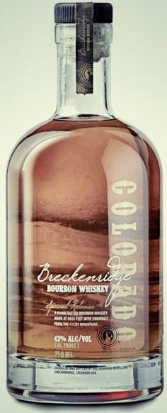 Breckenridge Bourbon. Very, very good.