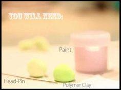 YouTube kawaii friday turtle polymer clay charm tutorial