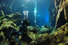 The Silfra Rift - Iceland