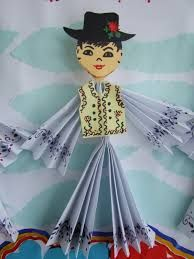 Imagine similară Diy And Crafts, Crafts For Kids, Arts And Crafts, Paper Crafts, 1 Decembrie, Santa Crafts, Kids Around The World, Projects For Kids, Preschool Activities