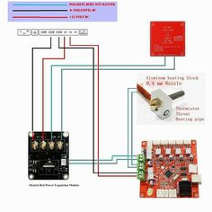 MOSFET wiring on Anet A8