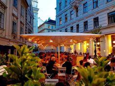 Die schönsten Gastgärten in Wien – Teil 1   1000things Salzburg Austria, Austria Travel, Mansions, House Styles, Photography, Travelling, Blog, Places, Nice Asses