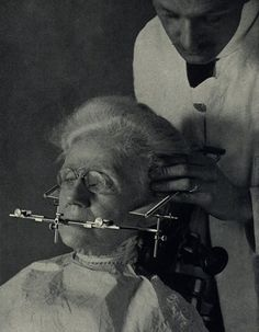 Early Dentistry, no wonder people are so scared of the dentist!!