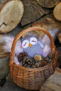 amigurumi - owl - hibou - chouette - crochet - tuto