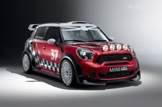 Mini Cooper Countryman WRC Car