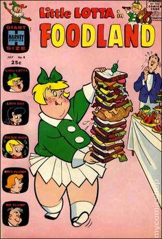 1963 Comic Books   Little Lotta Foodland (1963) comic books