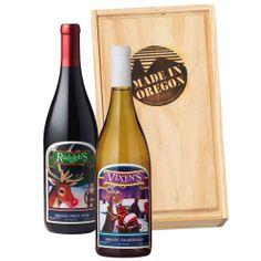 Rudolf & Vixen's Holiday Wine Set | Christmas Wines | Made In Oregon