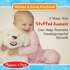 How stuffed animals can promote development