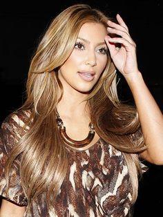 The Hair Evolution of Kim Kardashian - Kim Kardashian Style