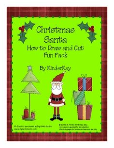 {freebie} teach your students how to draw Santa in two different and fun ways!