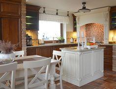 DĘBOWA KUCHNIA - REALIZACJA Kitchen Island, Furniture, Home Decor, Island Kitchen, Decoration Home, Room Decor, Home Furnishings, Home Interior Design, Home Decoration