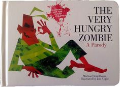 """Parody of """"The Very Hungry Caterpillar"""" by Eric Carle told with a more horror tone with zombies"""