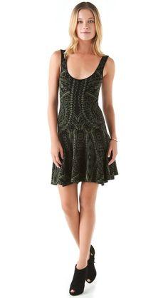 Torn by Ronny Kobo Aspen Royal Sweater Dress