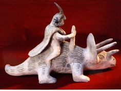 In July, 1944, Waldemar Julsrud, made a resounding discovery to Acambaro, Mexico. He found figurines that represent, among others, dinosaurs, unknown animals, reptiles, unknown divinities, and its everyday objects (pipes, musical instruments, etc.) Dinosaurs, how these people were able to represent animals they are supposed to never have known? Figurines from 2500 BC