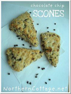 yummy {Chocolate Chip Scones} - mmm delish!