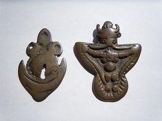 Tibetan antique amulet as Thokcha.