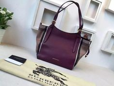 92eef6a65ded Burberry 39630291 Small Canter In Mahogany Red Leather And House Check 2015      Real Purse