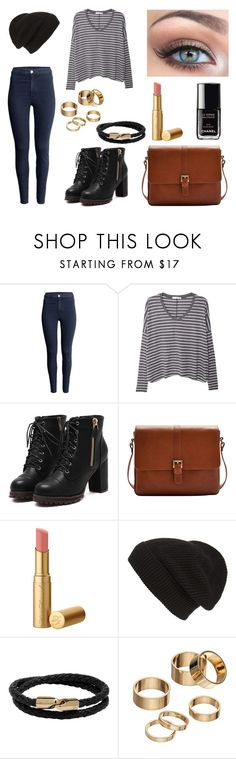 """""""Untitled #849"""" by coolale ❤ liked on Polyvore featuring H&M, MANGO, Joules, Victoria's Secret, Too Faced Cosmetics, Chanel, Phase 3, Mulberry and Apt. 9"""