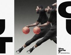 The Kyrie 3 by Hort Sports Graphic Design, Graphic Design Posters, Graphic Design Inspiration, Poster Designs, Nike Design, Ad Design, Layout Design, Nike Poster, Poster S