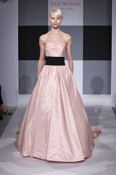 Isaac Mizrahi gown   Weddingbells.ca