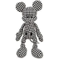 I never saw Mickey like this! Disney Love, Disney Magic, Disney Mickey, Walt Disney, New Mickey Mouse, Mickey And Friends, Estilo Disney, Hounds Tooth, Disney Plush