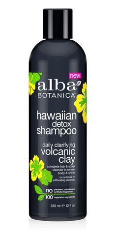 Alba Hawaiian Detox Shampoo