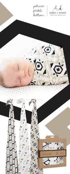 Perfect for any little baby, our silky soft swaddles paired with geometric and gender-neutral @ppbbaby prints are sure to keep your little one snugly and comfortable. Great for swaddling (of course), these baby blankets are also ideal as tummy time blankets, burp cloths and more!