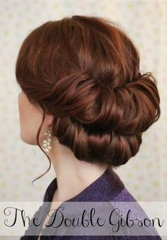 Holiday Hair Week: The Double Gibson | The Freckled Fox | Bloglovin'