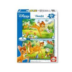 12902 - Puzzle Bambi, 2 x 20 piezas, Educa.  http://sinpuzzle.com/puzzles-infantiles-20-piezas/570-comprar-puzzle-educa-bambi.html