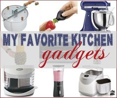 I LOVE a good kitchen gadget! Here are a few of my faves that make snacks and meal prep SO much easier! | #Ad