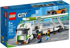 Lego City Truck, City Car, Building Sets For Kids, Building Toys, Boutique Lego, Construction Lego, Lego City Sets, Lego Sets, Shop Lego