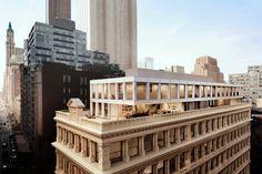 Shigeru Ban cria coberturas de luxo em prédio histórico de NY - Arcoweb