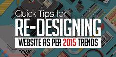 10 gợi ý cho thiết kế website trong năm 2015