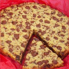 Cookie géant à partager - Tout simplement une pure tuerie dénichée sur le superbe blog Chocolat & Caetera ! Si comme moi vous êtes dingue de cookies, ...