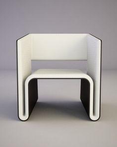 W Chair by Svilen Gamolov